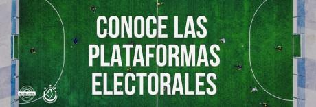 Plataformas Electorales y Aspirantes a Candidaturas sin partido