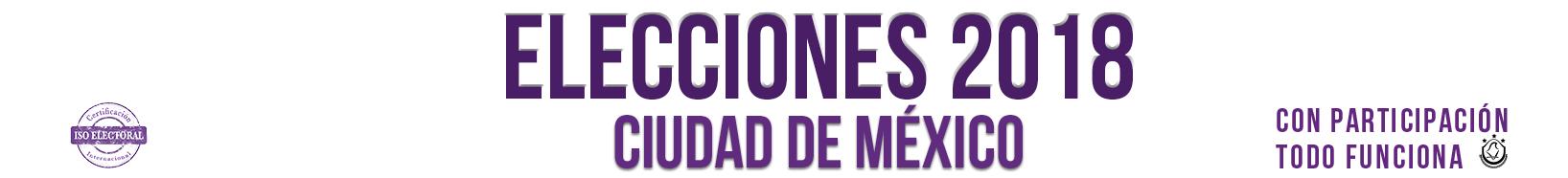 Ciudadanos Uni2 | Elecciones 2018 | Instituto Electoral de la Ciudad de México